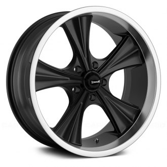 RIDLER® - 651 Matte Black with Machined Lip