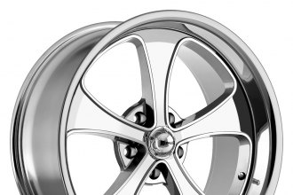 "RIDLER® - 645 Chrome (18"" x 8"", 0 Offset, 5x120.65 Bolt Pattern, 83.82mm Hub)"