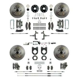 Right Stuff® - Drum-to-Disc Brake Conversion Kit