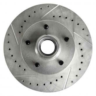 Right Stuff® - Drilled and Slotted 1-Piece Front Brake Rotors