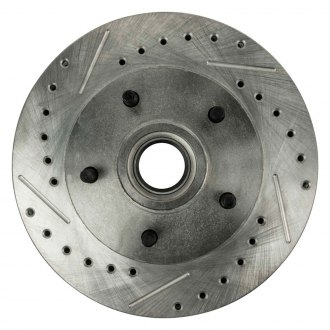 Right Stuff® - Front Drilled & Slotted Rotors