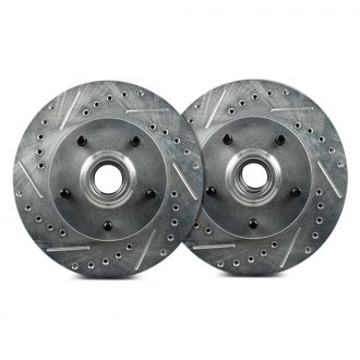 Right Stuff® - Drilled and Slotted Brake Rotor