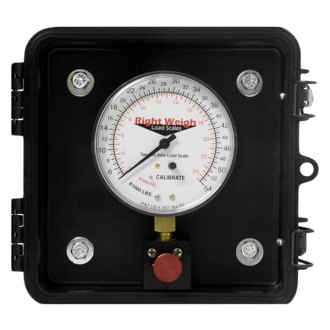 Right Weigh® - E-Z Weigh Exterior Analog Load Scale
