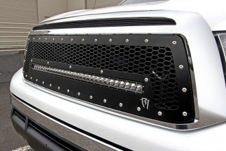 Rigid Industries® - Black Mesh Grille with LED Light Bar Socket