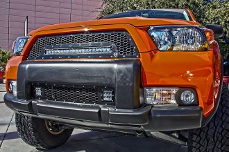 Rigid Industries® 40556 - Black Mesh Grille with LED Light Bar Socket