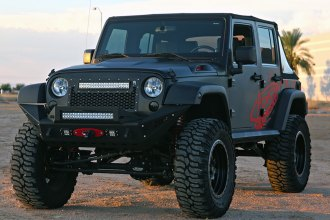 Rigid Industries® - Mesh Grille with Grille Emblem