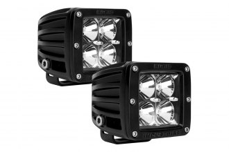 Rigid Industries® 20211 - D-Series 4 LEDs Flood LED Light