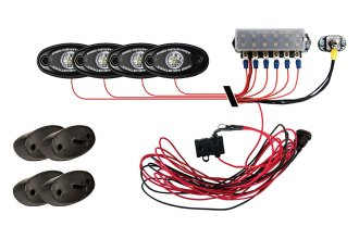 Rigid Industries® - A-Series Cool Rock Light Kit