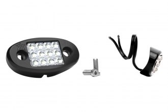 Rigid Industries® - White LED Radius Mount Dome Light