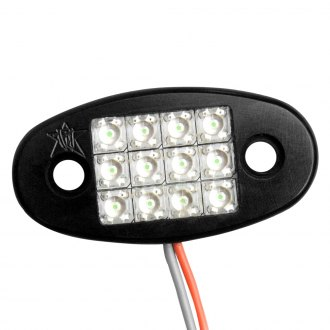 Rigid Industries® - White LED Flat Mount Dome Light