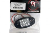 Rigid Industries® - Amber LED Flat Mount Dome Light