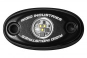 Rigid Industries® - A-Series Green LED Accessory Light (Black Low-Strength Housing)