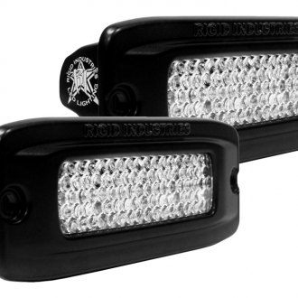 Rigid Industries® - SR-Q Series Flush Mount Diffused Back Up LED Light Kit