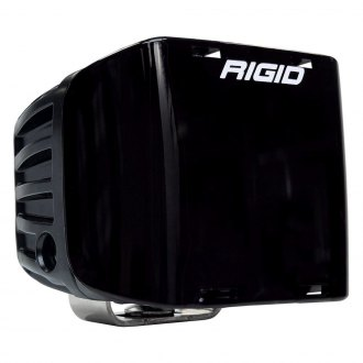 "Rigid Industries® - 3"" Square Black Polycarbonate Light Cover for D-SS Series"