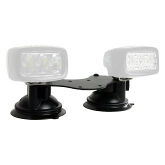 "Rigid Industries® - RAM Series Dual 6.25""x2"" Plate Suction Cup Mounts"