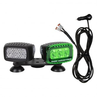 "Rigid Industries® - Blacklight Suction Cup 3""x2"" Ultraviolet LED Lights"