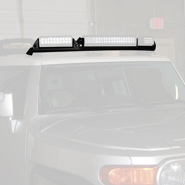Rigid industries 40132 roof rack mount for 20 and 2x10 e series rigid industries roof rack mount for 20 and 2x10 e series aloadofball Images