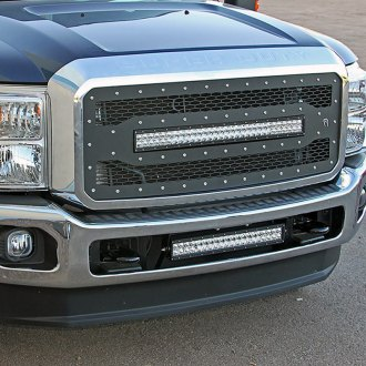 Rigid Industries® - LED Black CNC Machined Grille