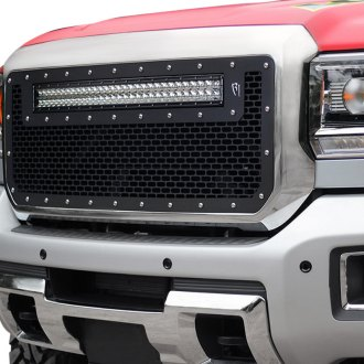"Rigid Industries® - Black CNC Machined Grille with 1 x 30"" RDS-Series LED Light Bar"