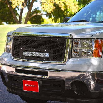 "Rigid Industries® - Black CNC Machined Grille with 20"" RDS-Series LED Light Bar"