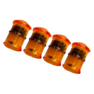 Rigid Industries® - Round Amber Crystal Side Marker Lights