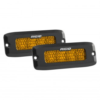 "Rigid Industries® - SR-Q Series Pro Flush Mount 5""x2"" 2x32W High/Low Dual Function Diffused Beam LED Lights"
