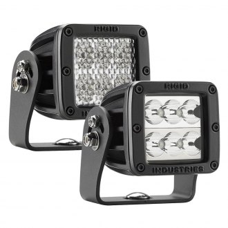 "Rigid Industries® - D2-HD Series MIL-STD-461F 3"" 21W LED Lights"