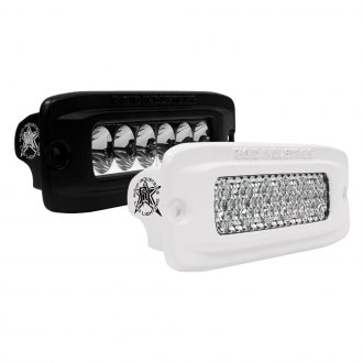 "Rigid Industries® - SR-Q Series Pro Flush Mount 5""x2"" 34.5W/8W LED Lights"