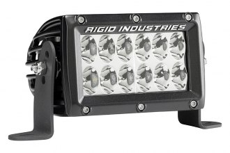 "Rigid Industries® - E2-Series Dual Row High & Low Dual Function Short Driving LED Light Bar (4"", 6"", 10"")"