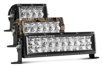 "Rigid Industries® - E-Series Dual Row Short LED Light Bar (4"", 6"", 10"")"