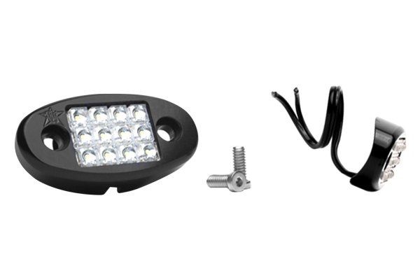 Rigid Industries® - White LED Dome Light with Tube Mount