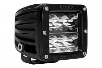 Rigid Industries® - D2 Amber Wide LED Light