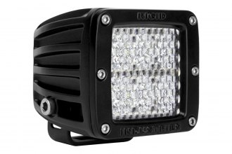 Rigid Industries® - D2 White Diffused LED Light
