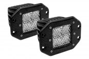 Rigid Industries® - D2 Flush Mount Diffused LED Lights