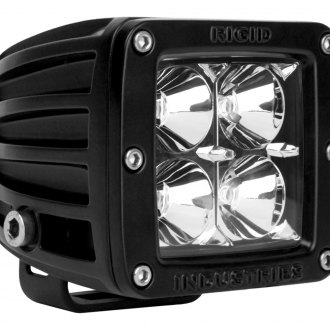 Rigid Industries® - D-Series 4 LEDs Red Flood LED Light