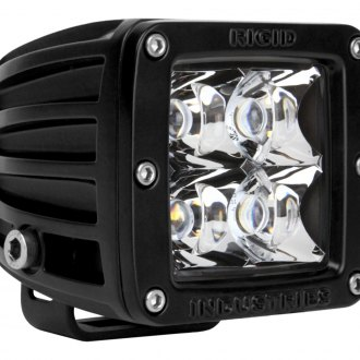 Rigid Industries® - D-Series 4 LEDs Red Spot LED Light