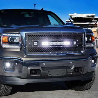 Rigid Industries® - LED Black Mesh Grille