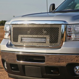 "Rigid Industries® - Black Mesh Grille with 20"" RDS-Series LED Light Bar"