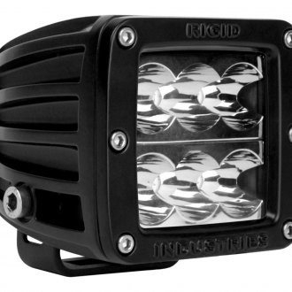 Rigid Industries® - D-Series 6 LEDs Green Wide LED Light