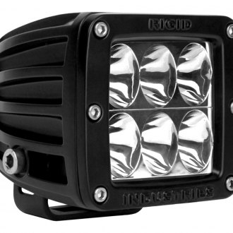 Rigid Industries® - D-Series 6 LEDs Red Driving LED Light