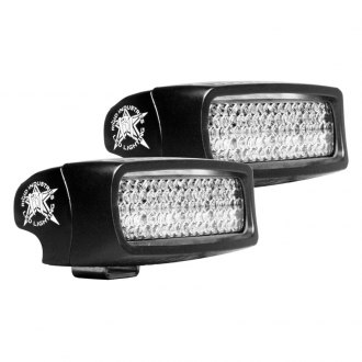 Rigid Industries® - SR-Q Series Chrome Backup LED Light Kit