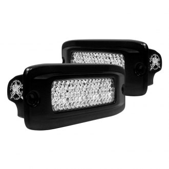 Rigid Industries® - SR-Q Series Black Flush Mount Diffused LED Backup Light Kit