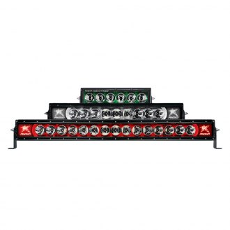 Rigid Industries® - Radiance Medium Combo Spot/Flood LED Light Bar with Color Backlight
