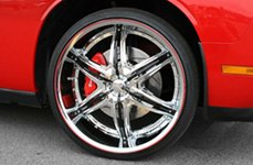 RimPro-Tec® — Wheel Bands on Dodge Charger SRT8