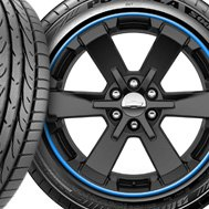RimPro-Tec® — Blue Wheel Bands