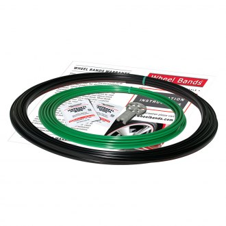 RimPro-Tec® - Green Insert and Black Track Wheel Bands™