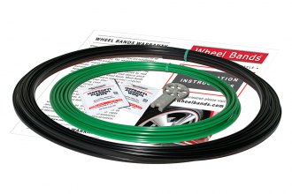 RimPro-Tec® WBRBGR - Green Insert and Black Track Wheel Bands™