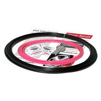 RimPro-Tec® - Pink Insert and Black Track Wheel Bands™