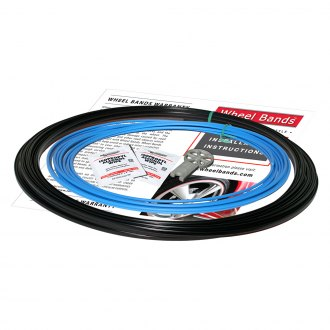RimPro-Tec® - Sky Blue Insert and Black Track Wheel Bands™