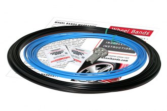 RimPro-Tec® WBRBSB - Sky Blue Insert and Black Track Wheel Bands™